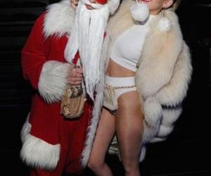 christmas, miley cyrus, and miley cyrus christmas image