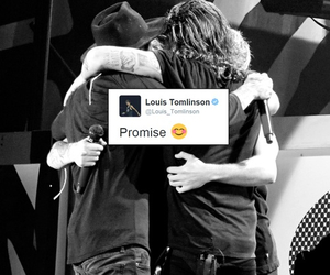 one direction, promise, and louis tomlinson image