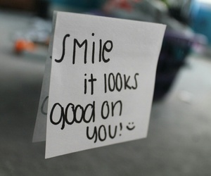 quote, smile, and good image