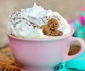 pink, gingerbread, and cream image