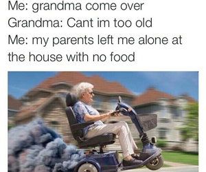 grandma, funny, and lol image
