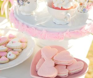 sweet, pink, and food image