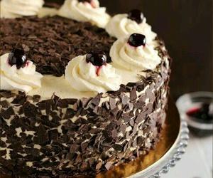 cake, cream, and cake design image