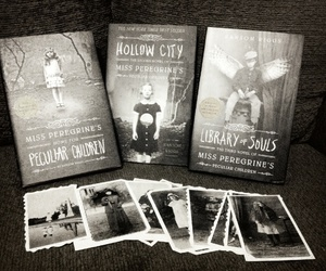 black and white, books, and grunge image