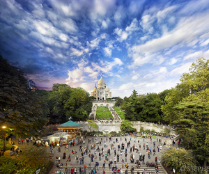 day, garden, and paris image