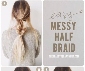 hack, hairstyle, and easy hairstyle image