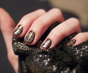 nails, diy, and nail polish image