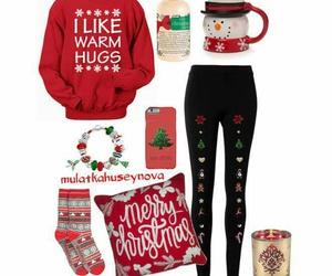 christmas, fashion, and merry christmas image