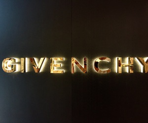 Givenchy, fashion, and gold image