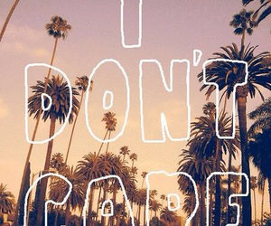 i don't care, care, and quote image
