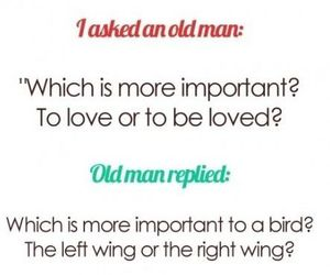 love, quote, and bird image