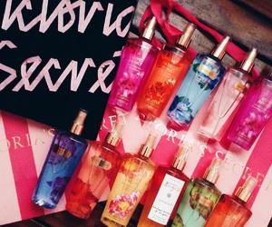 perfume, pink, and victorias secret image
