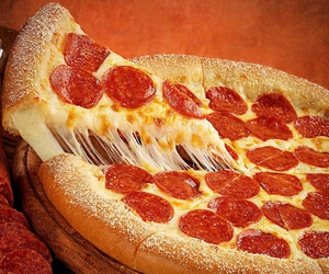 cheese, fast food, and mozzarella image