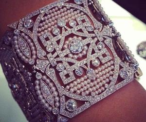 bracelet, luxury, and diamond image