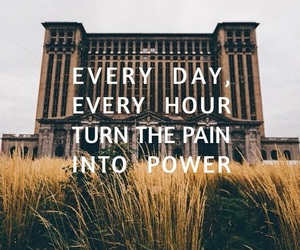 power, pain, and quotes image