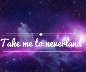 neverland, space, and take me image