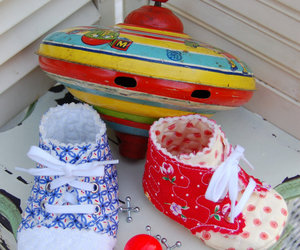 baby shoes, shoes, and cute image