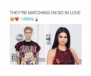 outfit, selena gomez, and justin bieber image