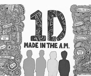 one direction, 1d, and made in the a.m. image