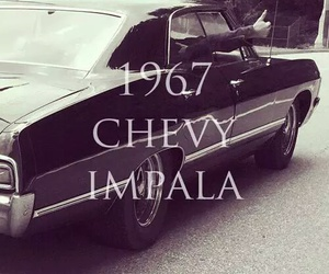 supernatural, chevy impala, and love image
