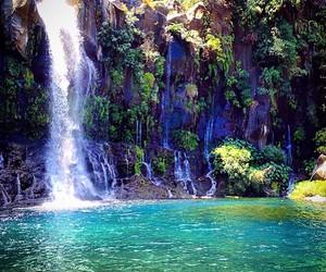 beautiful, waterfalls, and reunion island image