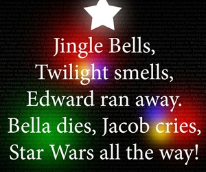 twilight, christmas, and bella image