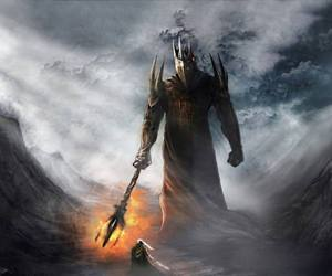 LOTR, middle earth, and villain image