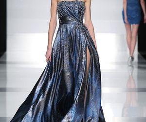 blue, dress, and runaway image