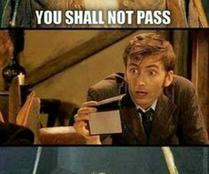 gandalf, doctor who, and LOTR image