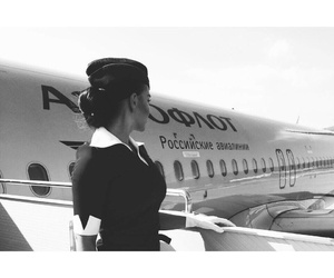 aviation, Dream, and stewardess image