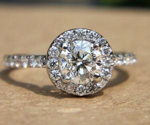 wedding, diamond, and engaged image