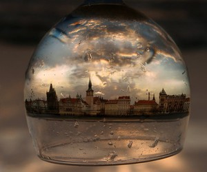 glass, city, and photography image
