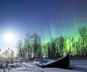 aurora boreal and awesome image