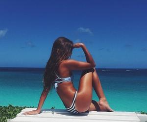 summer, beach, and tan image
