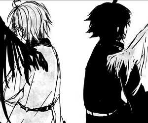 owari no seraph, mikaela hyakuya, and yuichiro hyakuya image