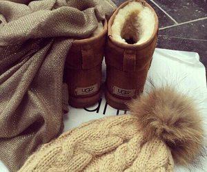 winter, fashion, and ugg image