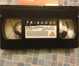 friends tv show, friends, and friends tape image