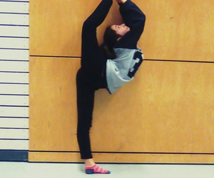 dance, flexibility, and me image