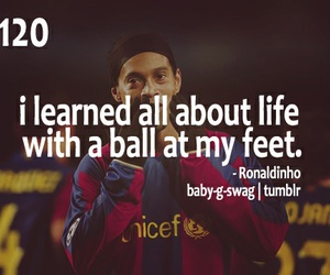 soccer, Ronaldinho, and football image