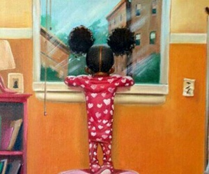 cutie, so sweet, and african american art image
