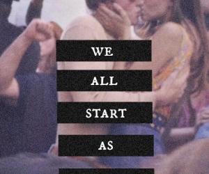 love, stranger, and kiss image