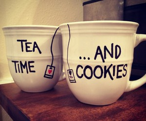 Cookies, creative, and cups image