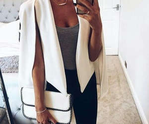 blazer, cute, and fashion image