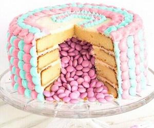 cake, food, and pink image