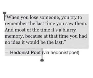 quotes, sad, and memories image