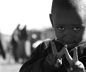 peace, child, and boy image