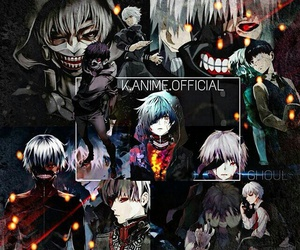 ghoul, tokyo ghoul, and ken image