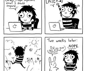 funny, sarah andersen, and comic image