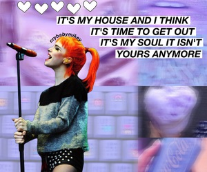 hayley williams, paramore, and my house image