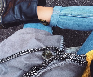 dr martens, levi's, and outfit image